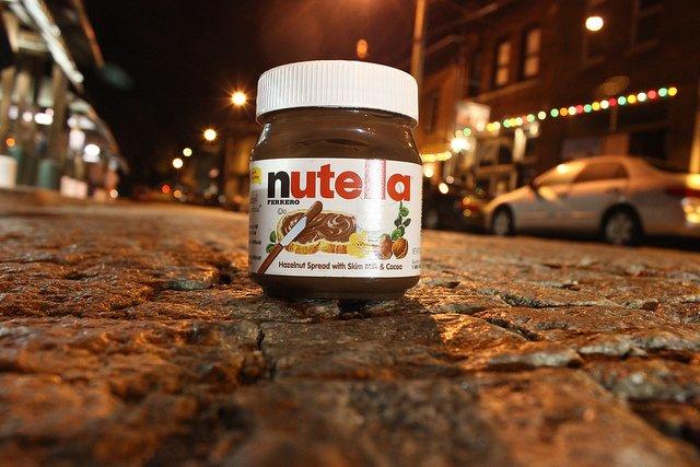 nutella-in-road