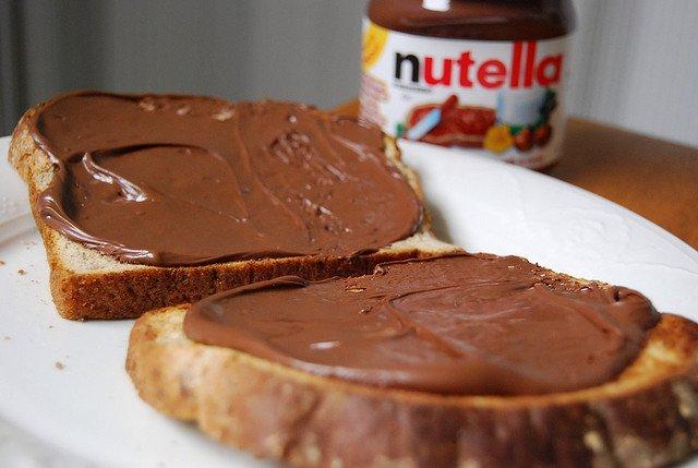 nutella-on-bread