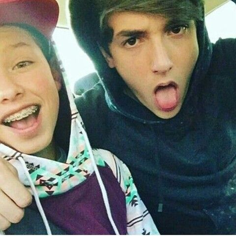 Bryce Hall and Jacob Sartorius